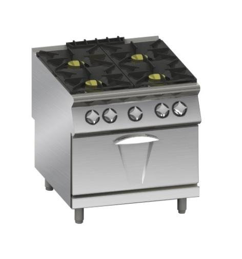 Cucine a gas con forno a gas serie 90 - Marche cucine a gas ...