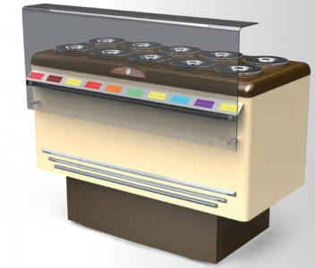 Vetrina gelato a pozzetto prezzi migliori posate acciaio for Congelatore a pozzetto piccolo